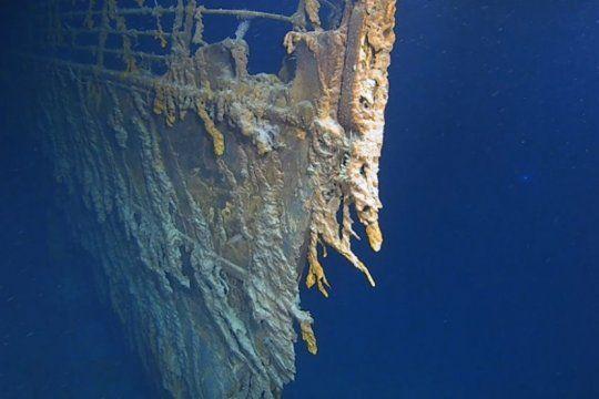 el titanic, 107 anos despues: imagenes del barco como nunca antes se habia visto
