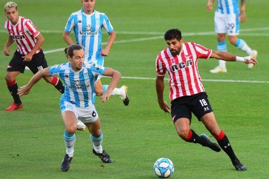 Estudiantes vs. Racing, por la Copa Diego Maradona 2020.