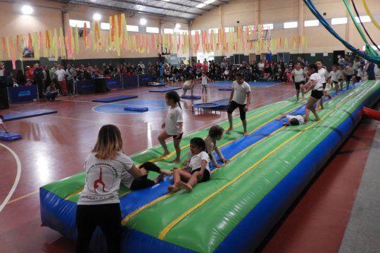 El playón deportivo de Punta Alta que quieren bautizar con el nombre de Maradona.
