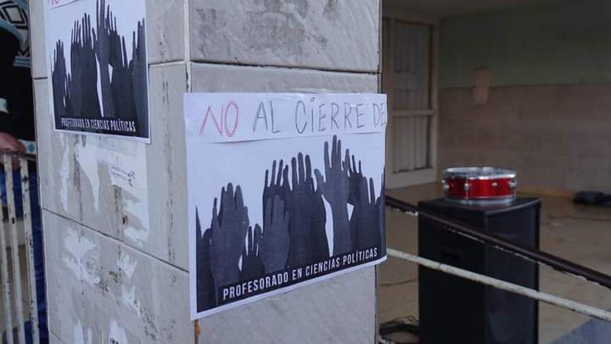 Autoridades educativas de Azul negaron el cierre de Ciencias Políticas