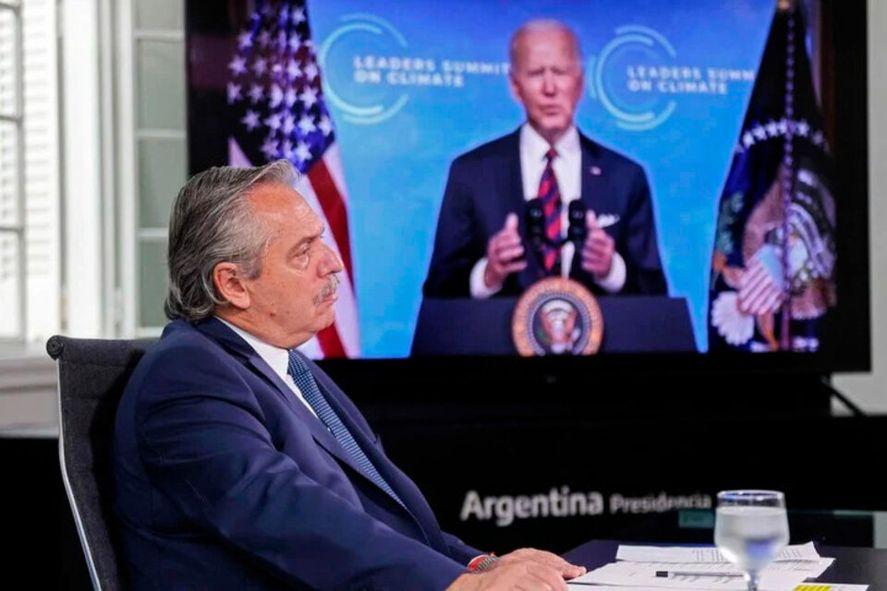 Alberto Fernández agradeció a Biden la donación de vacunas