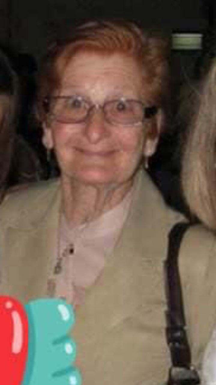 Ángela Nuccio, de 90 años, la víctima fatal