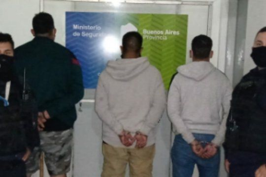 Los tres detenidos en las últimas horas por policías de La Plata