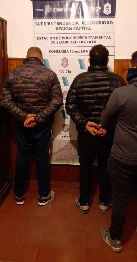 Los dos detenidos acusados de provocar daños en la casa de la expareja de uno de ellos