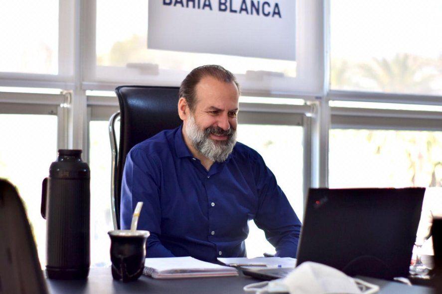 Federico Susbielles, presidente del Consorcio portuario de Bahía Blanca