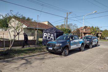 Intervino el fiscal Walter Mércuri y la Policía Federal