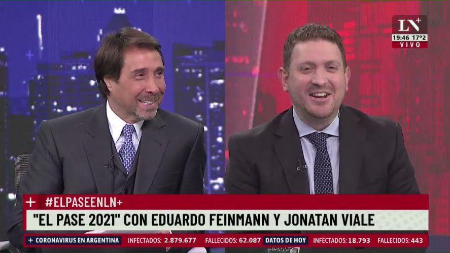 Feinmann reemplazará a Jonatan Viale en LN+