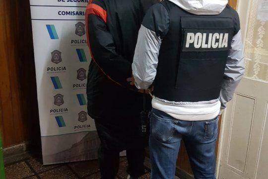 Sarna fue detenido por personal de la comisaría Sexta