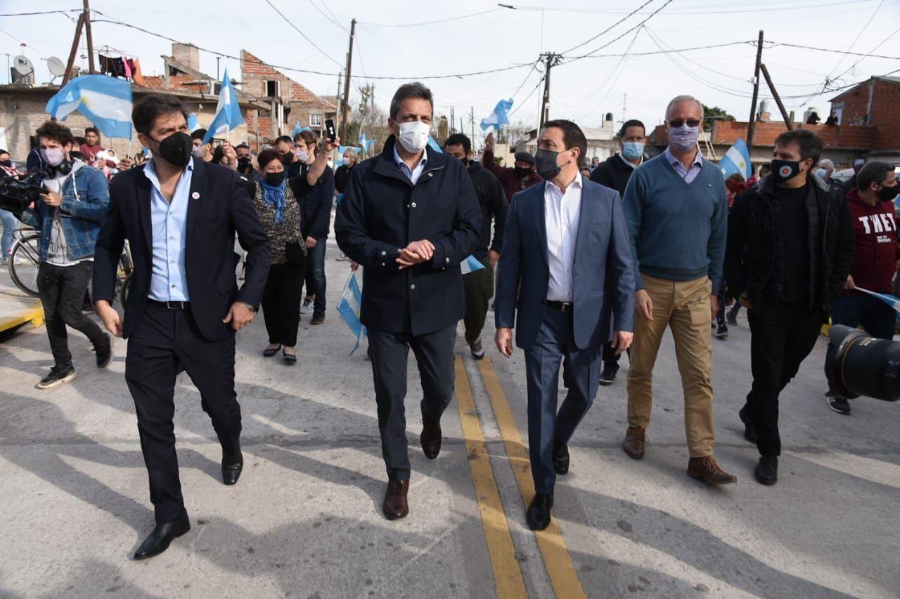 sergio massa: no los vi pedir perdon por endeudar a la argentina