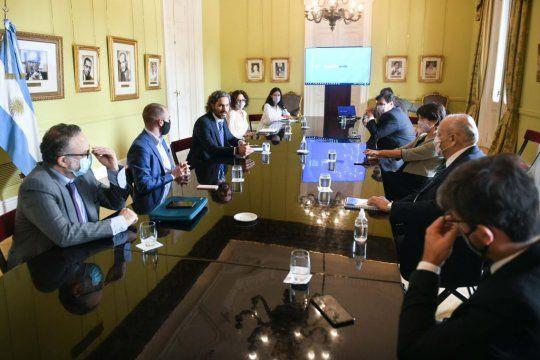 Reunión del Gabinete económico: precios, salarios, abastecimiento en las góndolas y ATP