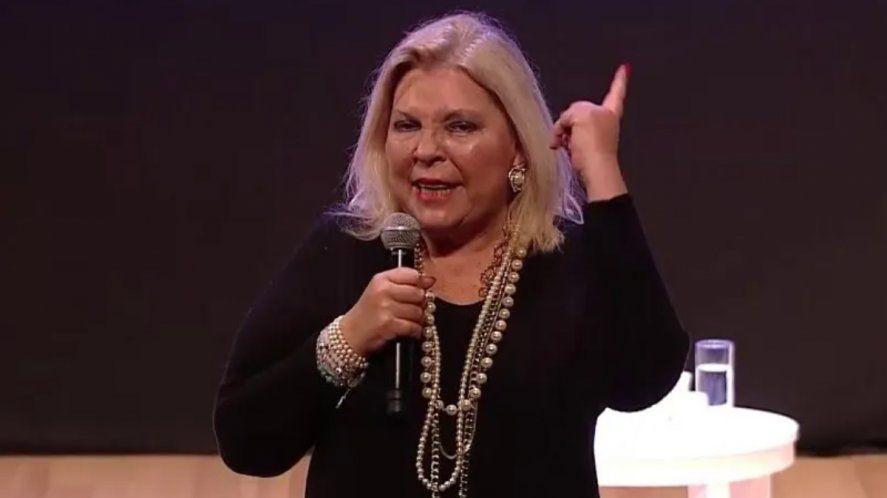 Carrió confirmó que será candidata en la provincia de Buenos Aires