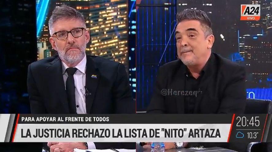 Nito Artaza: Antes que con Macri me quedo con esto