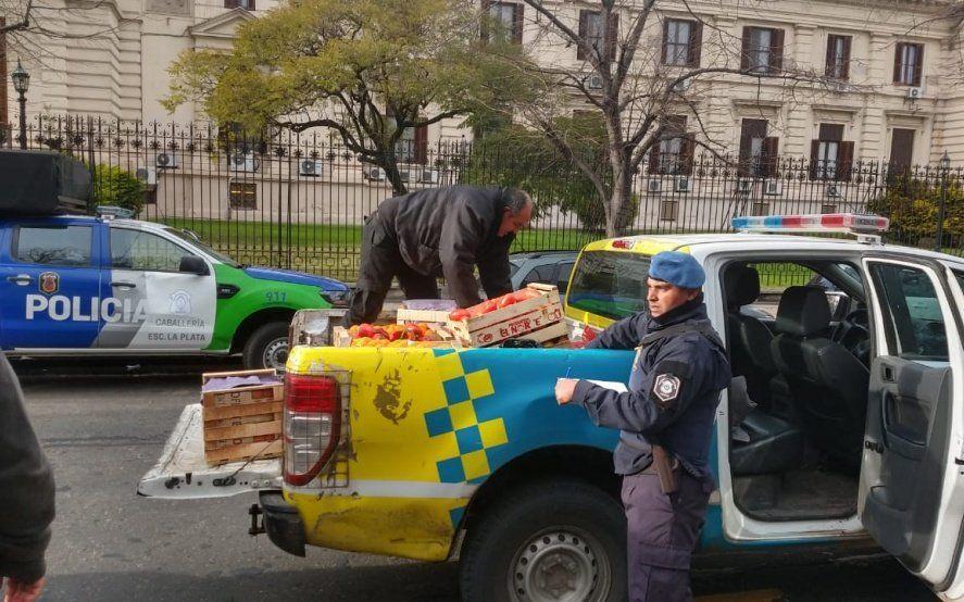 Liberaron a los dos militantes detenidos durante el operativo policial en Plaza San Martín