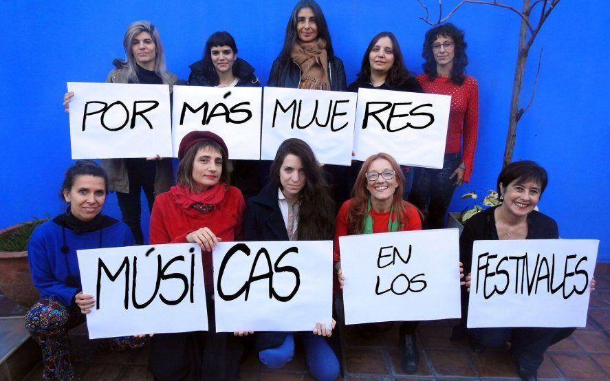 """""""X Más Músicas Mujeres en Vivo"""" por la Ley cupo femenino en recitales"""