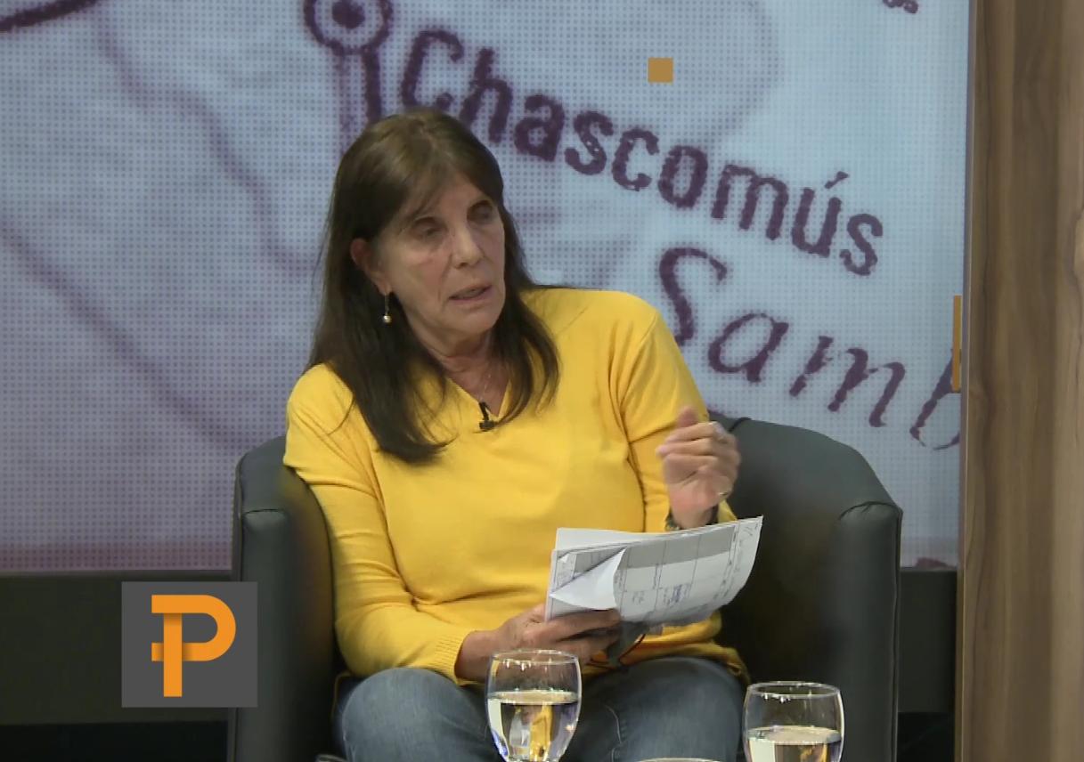 La ministra de Gobierno bonaerense, María Teresa García, en LAdo P