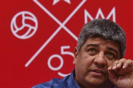 Moyano habló de una AFA macrista contra el rojo y dijo de Vigliano: fue un pobre tipo con miles de razones para hacer lo que hizo. visibilit