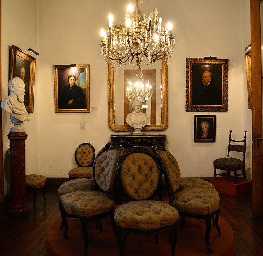 Interior del Museo y Archivo Dardo Rocha en La Plata