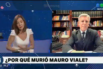 Cristina Pérez mezcló en una pregunta la eficacia de la vacuna Sinopharm, con la escasez de dosis, y la muerte de Mauro Viale. La respuesta la dejó en silencio.