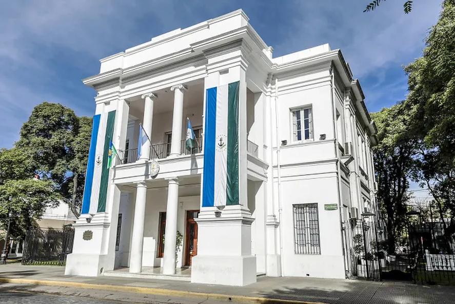 La Casa Municipal, en Adrogué, partido de Almirante Brown