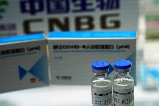 La distribución de la vacuna Sinopharm, que llegó desde China, comenzará este fin de semana en todo el país
