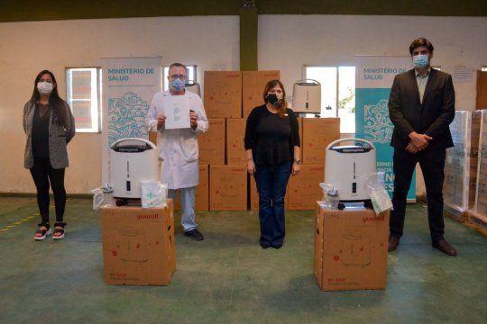 la provincia suma 300 concentradores de oxigeno al sistema de salud