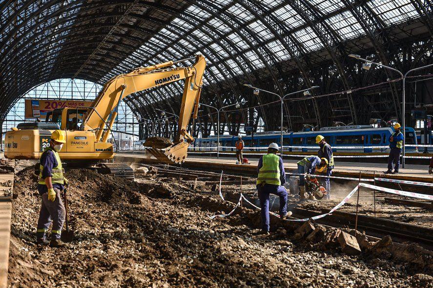 Las obras en la estación de Retiro comenzarán este miércoles
