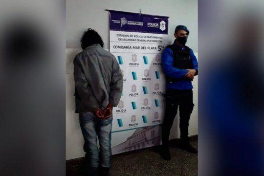 El hombre de 43 años fue detenido en inmediaciones del lugar del hecho
