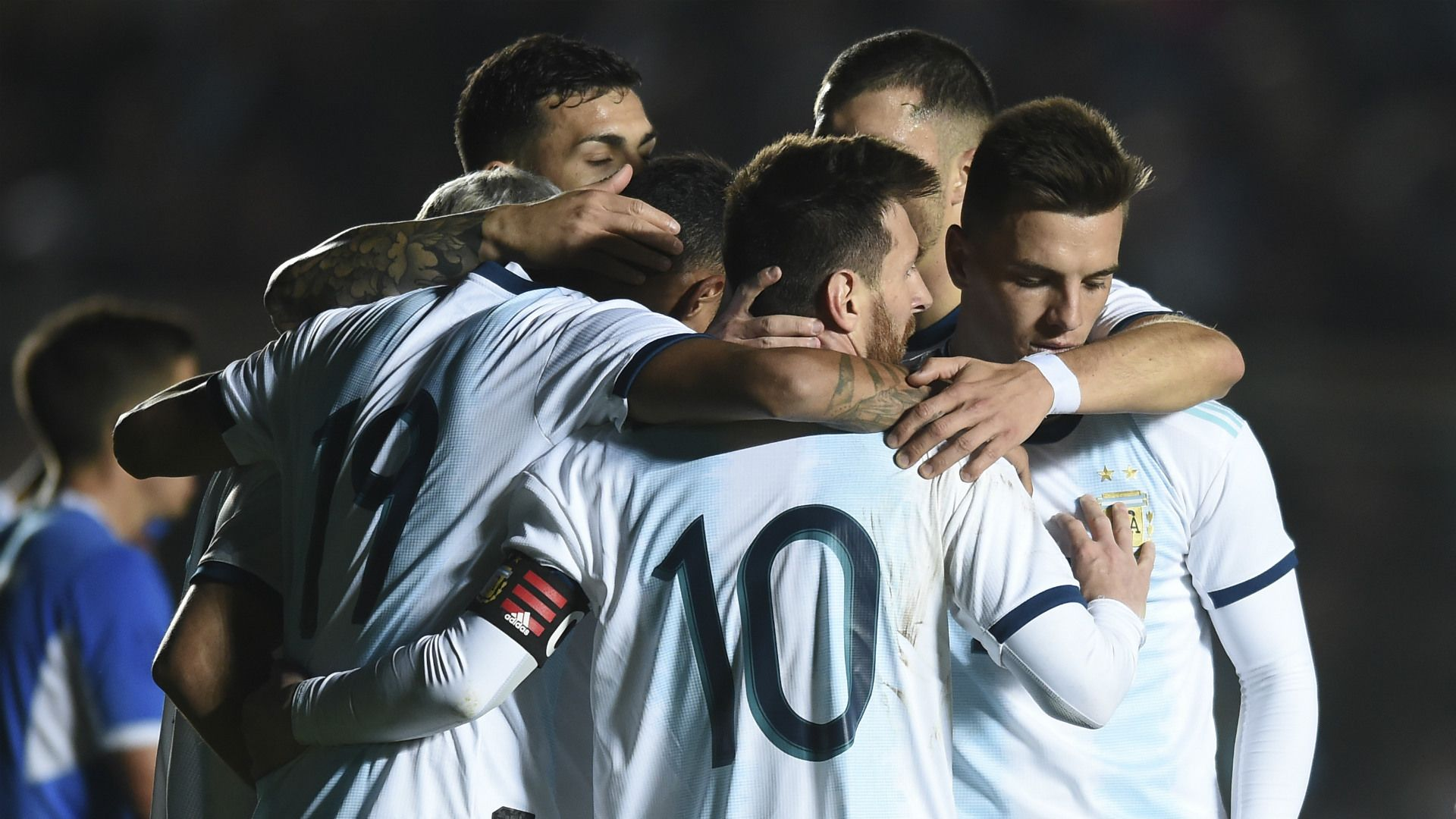 La noche sanjuanina a pleno; la última vez con público en las tribunas fue previo a la Copa América 2019.