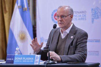 El ministro de Salud bonaerense, Daniel Gollán, apuntó contra los privados por las demoras en la carga de datos de fallecidos por covid-19.