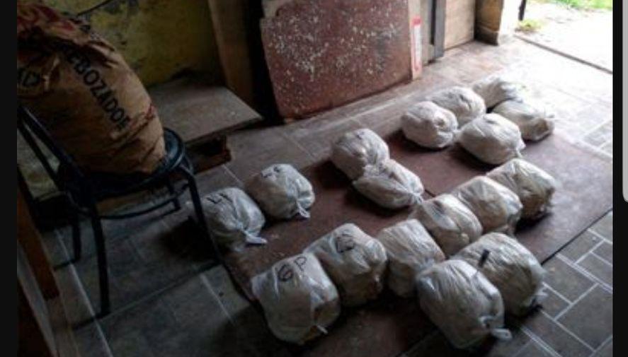 Las bolsas decomisadas en el operativo de Mar del Plata contenían torres de milanesas cortadas y listas para la venta al menudeo