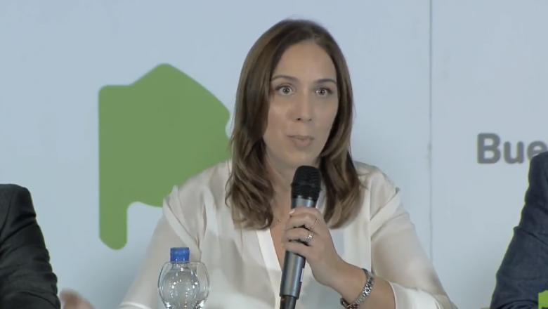 Vidal se alineó con Macri y anunció la eliminación de impuestos en las tarifas de luz, gas y agua