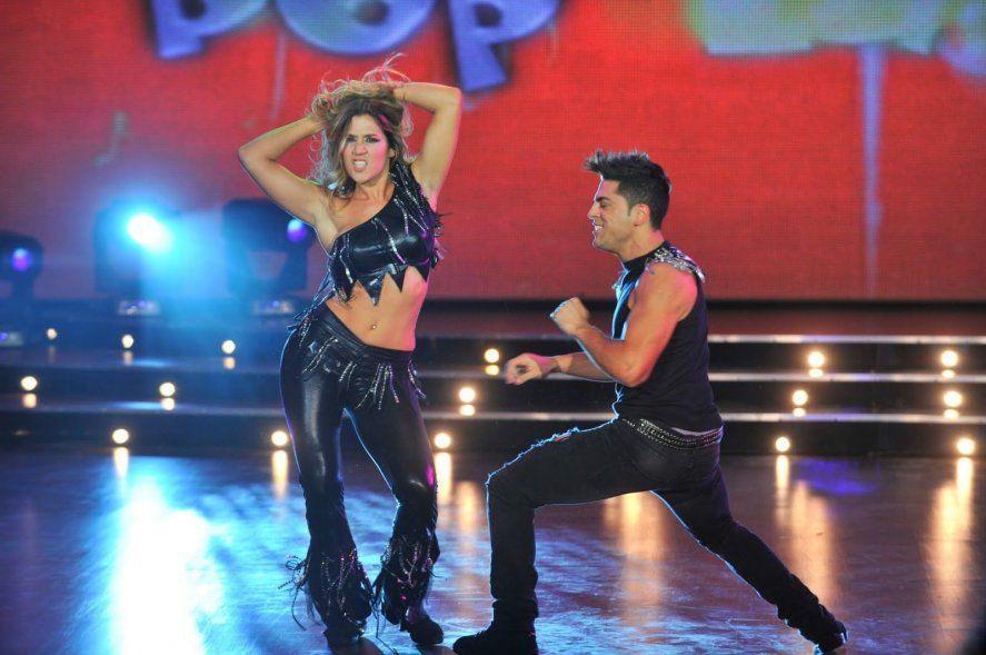 Jimena Barón y Facundo Mazzei, compañeros del Bailando en 2011