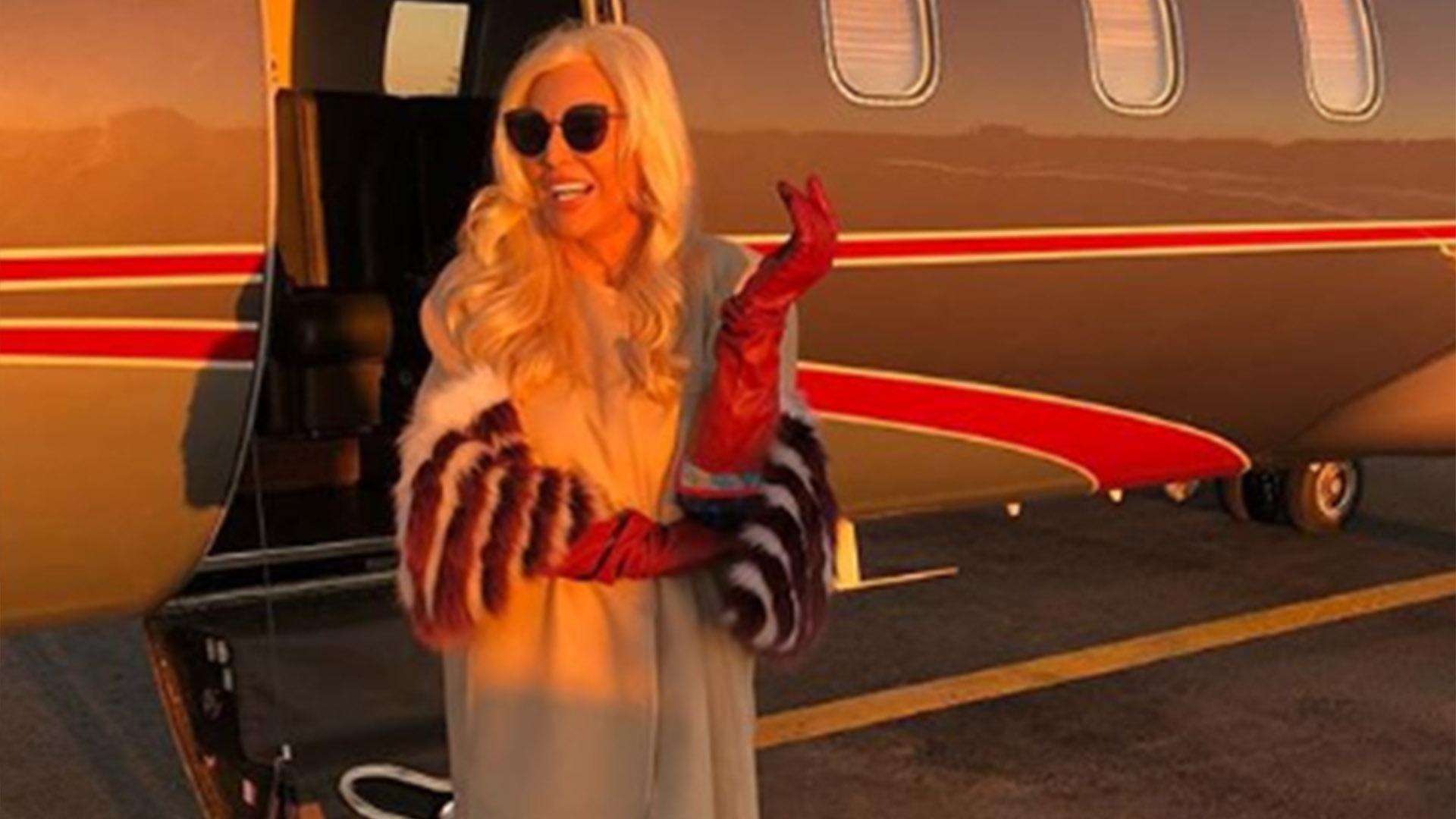 un famoso periodista piloteo el avion en el que viajo susana gimenez a uruguay