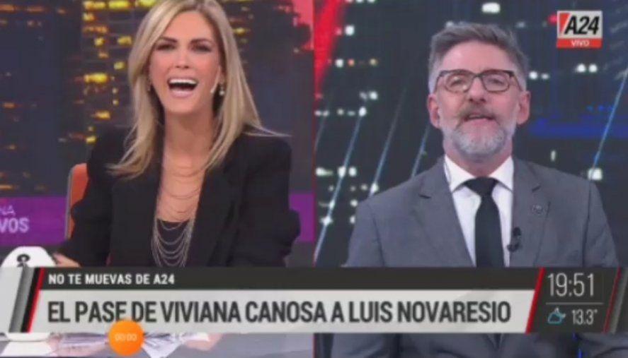 La solidaria costumbre de Viviana Canosa de donar la media que queda de un par cuando pierde una