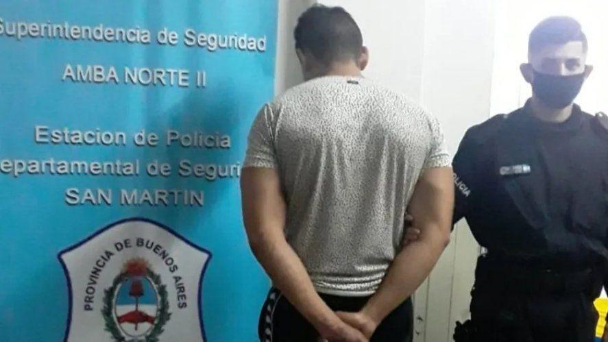 Este es el joven de 27 años detenido. Es el primo del asesinado