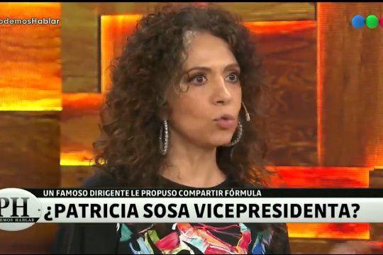 ¿Patricia Sosa Vicepresidenta?