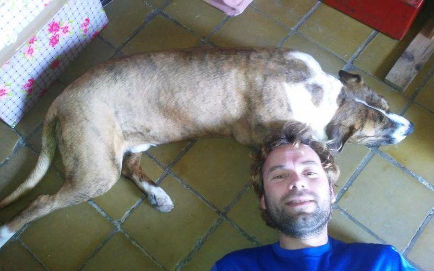 Perdió a su perro y lo buscó durante 20 días en el Tren Roca: mirá el emotivo reencuentro