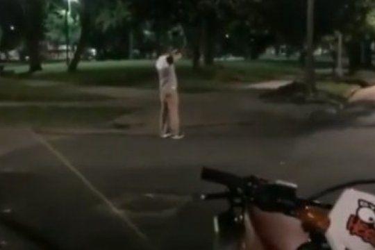 luego de la muerte de maite de 5 anos en navidad, un hombre se filmo disparando en ano nuevo