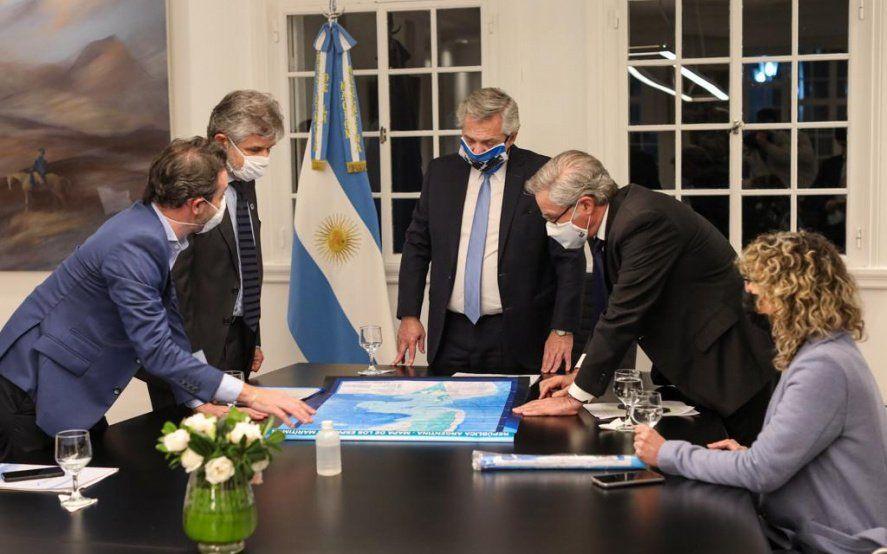 Alberto Fernández elaboró proyectos para continuar con el reclamo de soberanía sobre las Malvinas