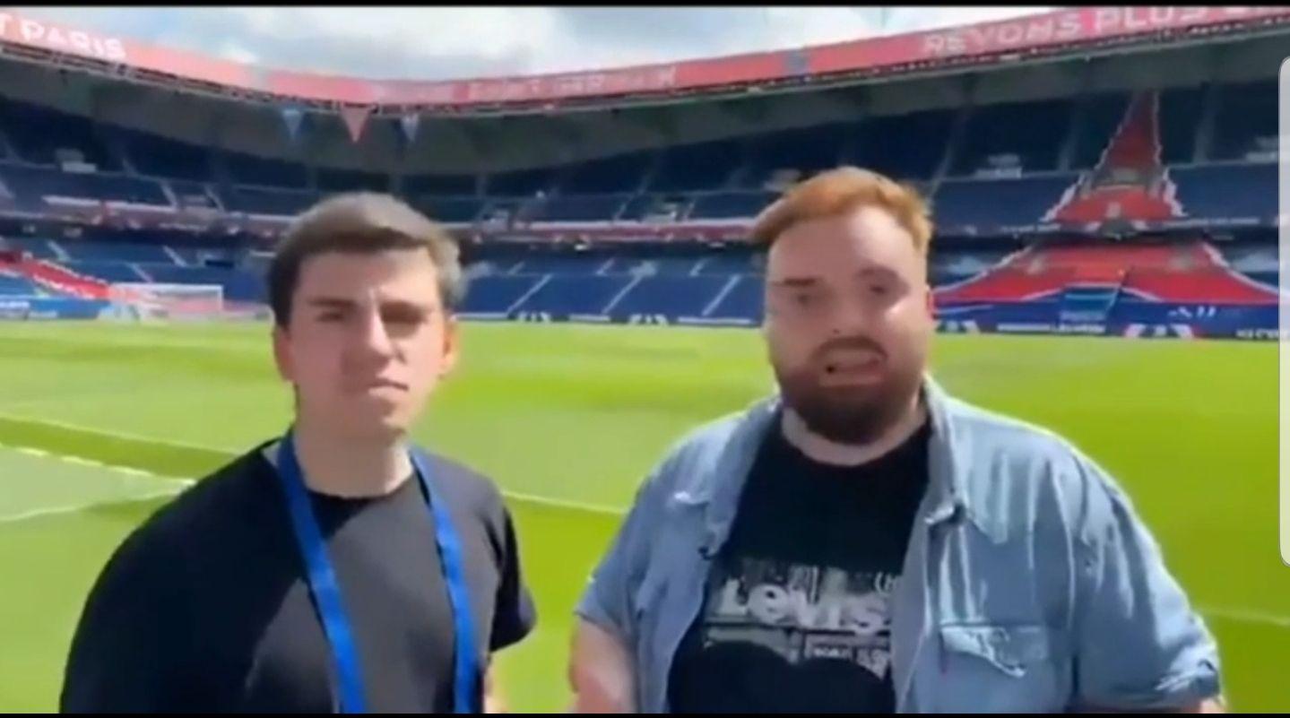 El influencer español Ibai Llanos ironizó sobre la ausencia del periodista Gustavo López entre los asistentes a la presentación de Lionel Messi en el París Sant Germain, con una chicana