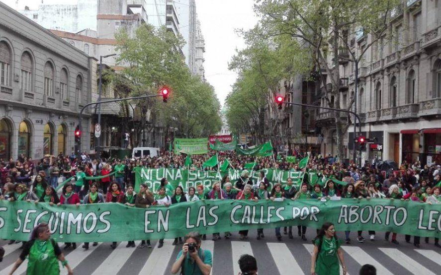 #19F: la marea verde sale a las calles en todo el país por el derecho al aborto legal, seguro y gratuito