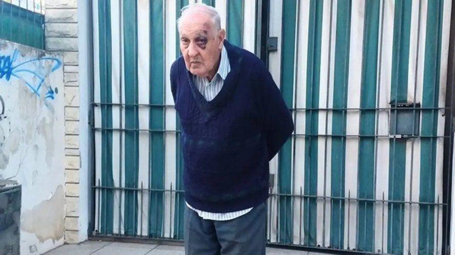 El jubilado asaltado contó su pesadilla a la prensa