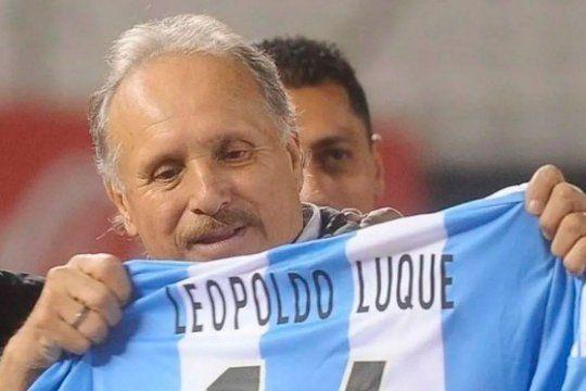 Luque, una marca registrada de la Selección Argentina.