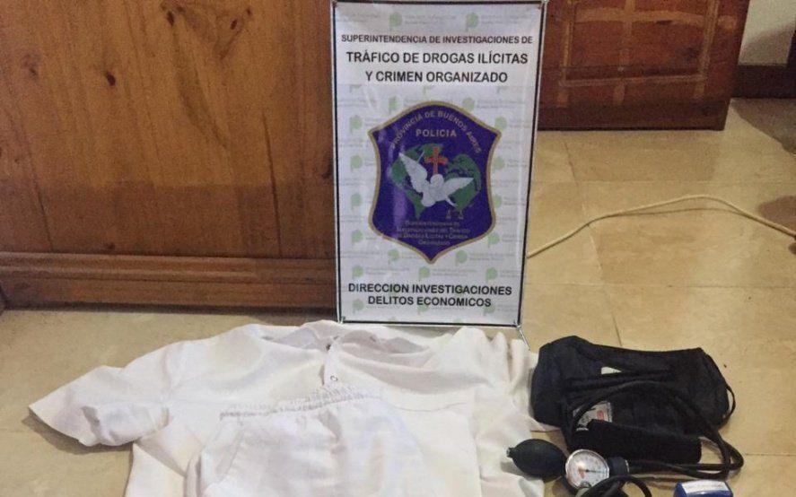 Berazategui: cayó chofer de ambulancia que estudió enfermería y ejercía como médico