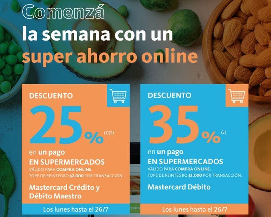 Este lunes es el último día de descuento en supermercados con Banco Nación