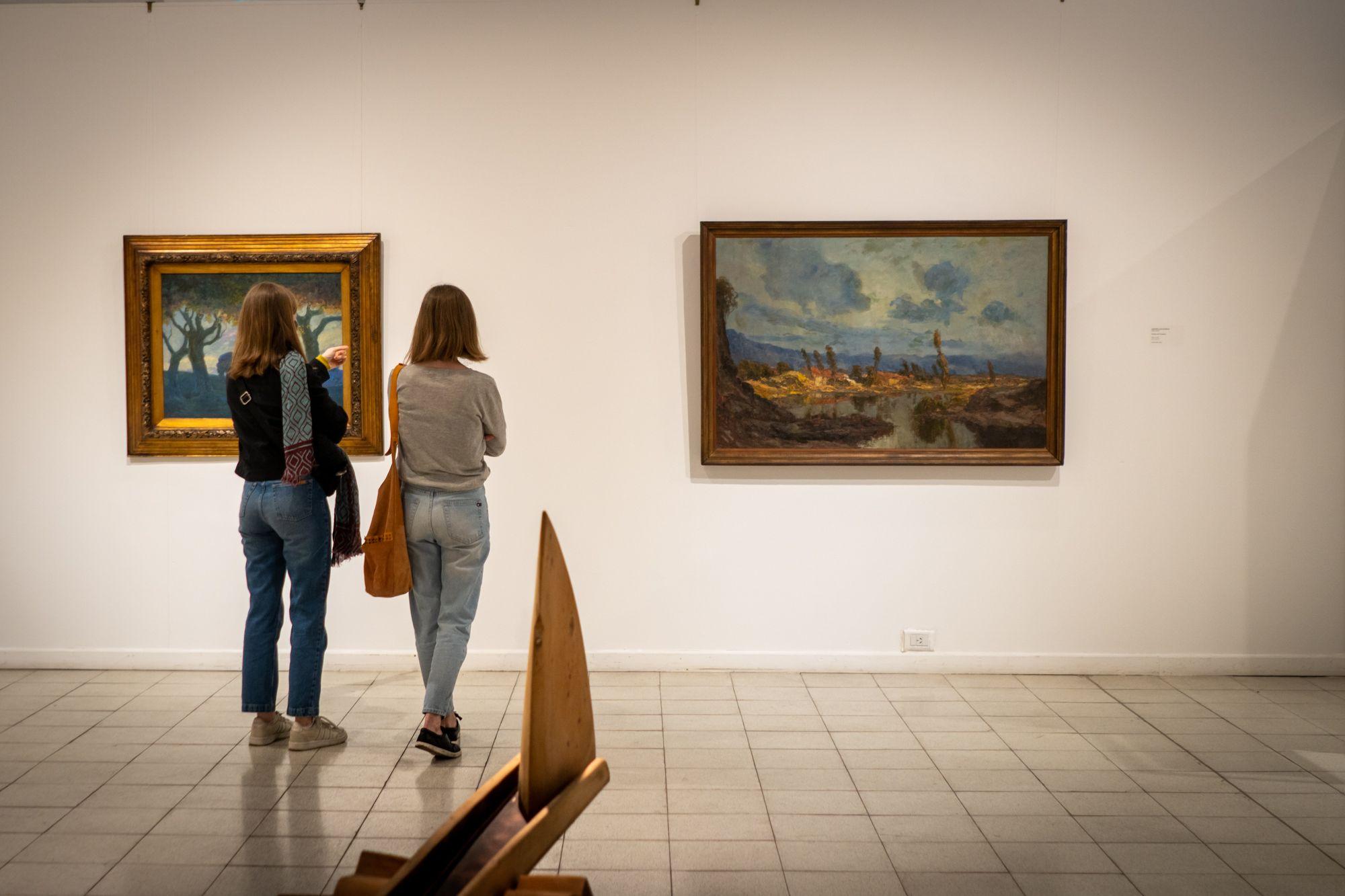 El Museo Provincial de Bellas Artes Emilio Pettoruti queda ubicado en calle 51 entre 5 y 6, La Plata.