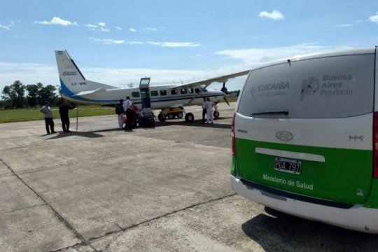 la provincia volvio a utilizar un avion propio para un operativo de donacion de organos tras el desguace del macrismo