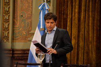Kicillof y Meoni encabezarán un acto en La Plata