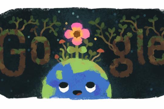con un doodle y un poema de pablo neruda, google le da la bienvenida a la primavera