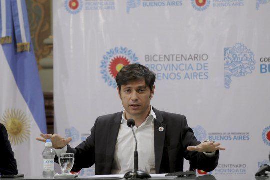 Kicillof le apuntó a Larreta y dijo que la capital es el centro de la pandemia
